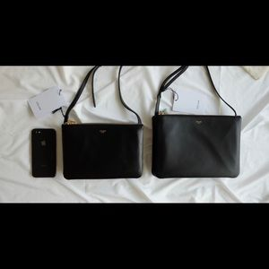 Celine Bags - Celine Large Trio Bag in Turquoise color